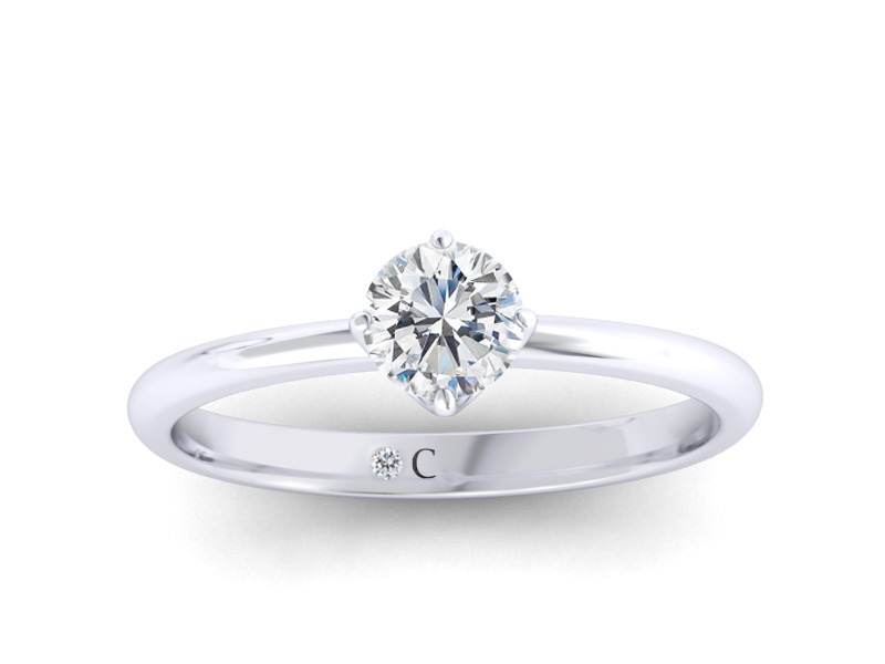 Diamond Corporation South Africa Engagement Rings Classic No 5
